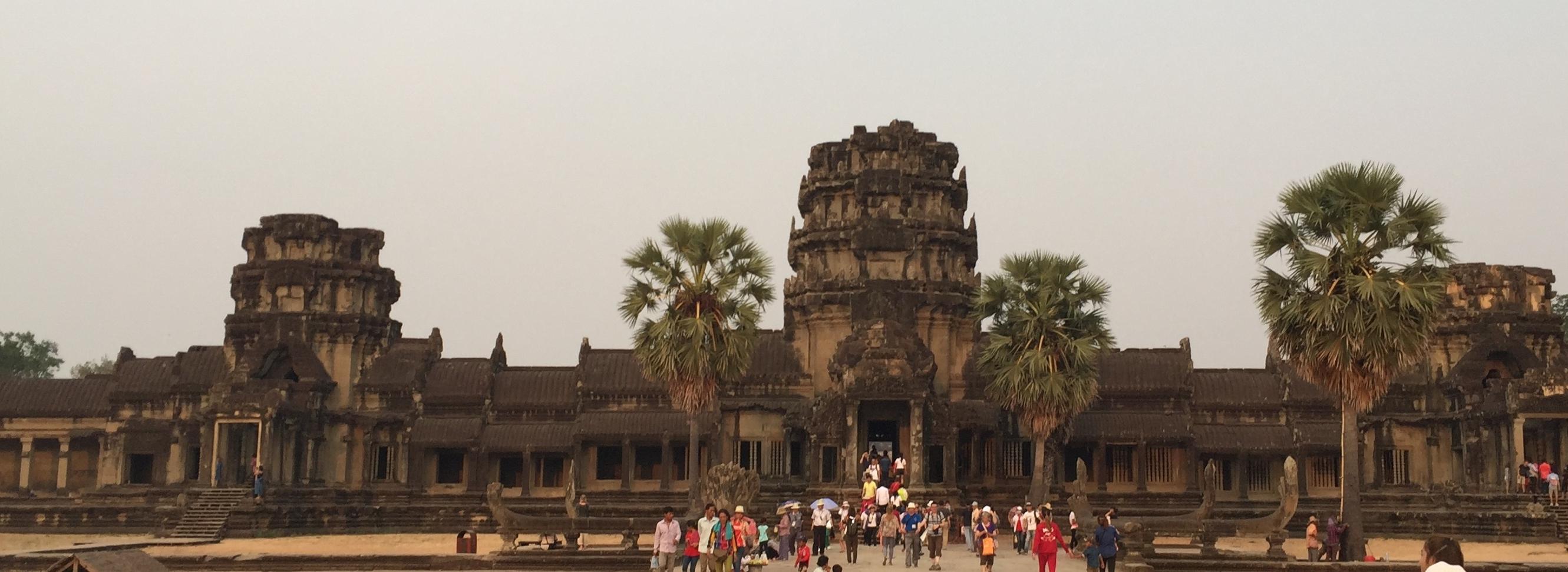 Angkor entrance