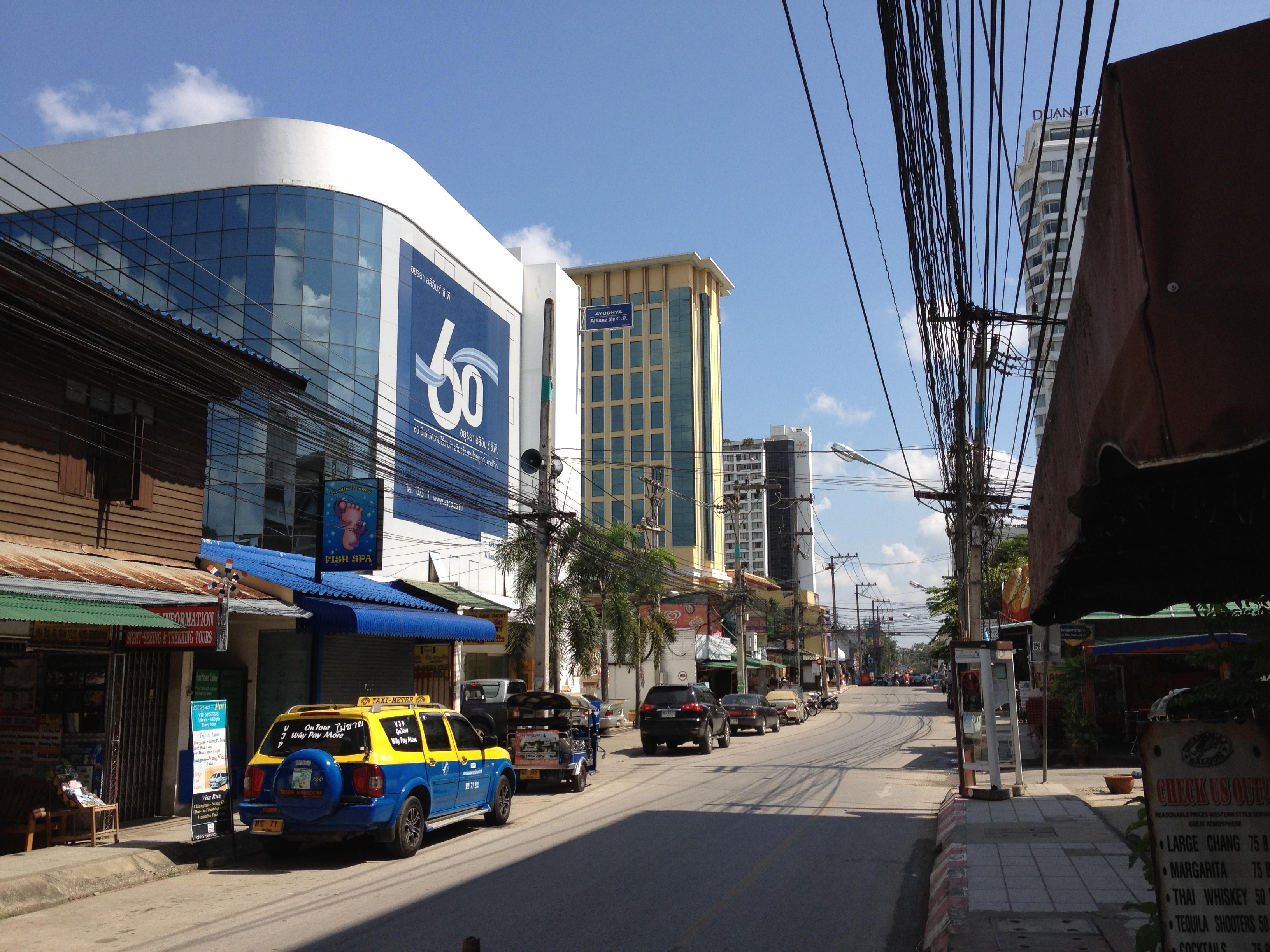 Chiang Mai Thailand Main Street