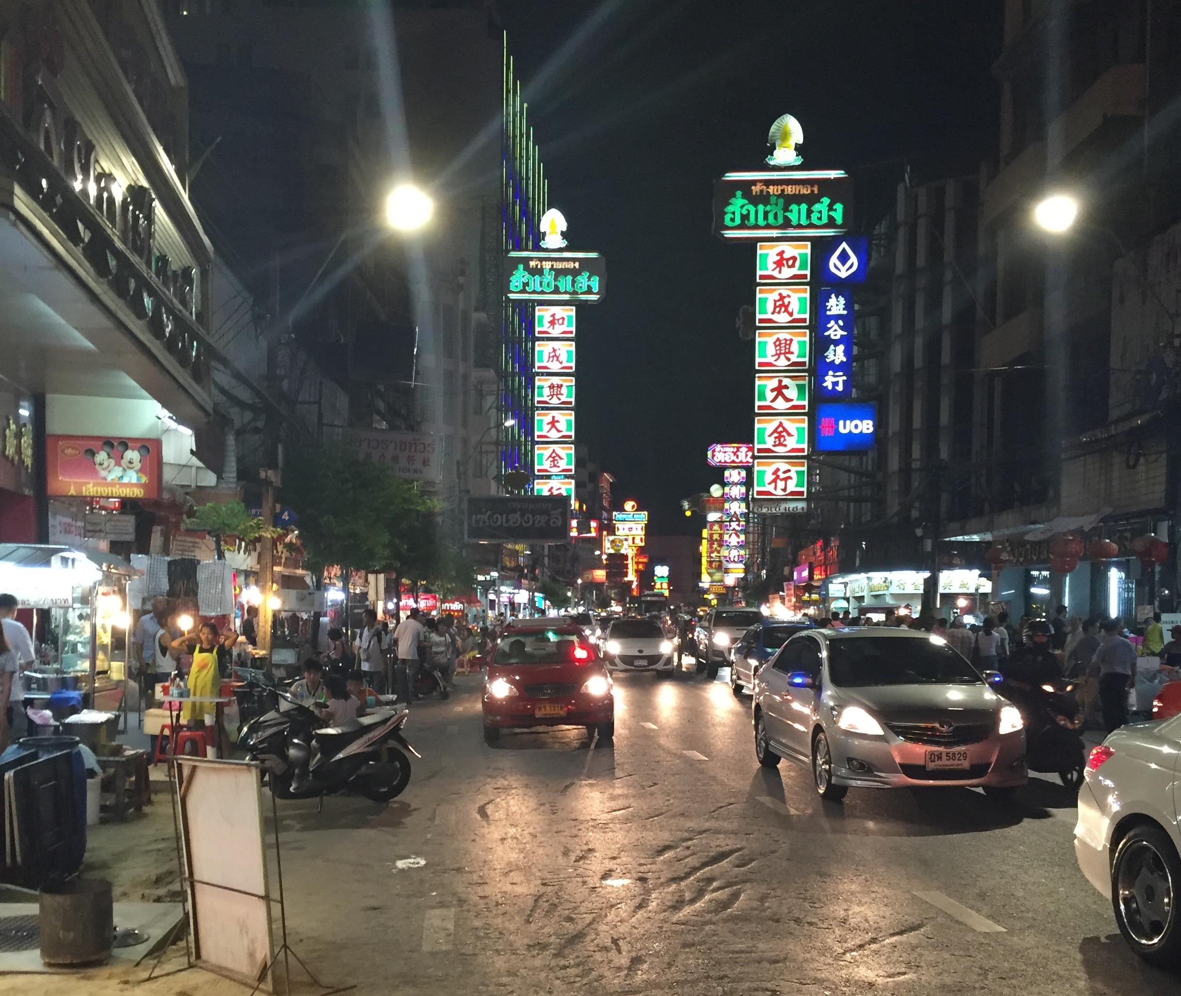 Bangkok China Town Thailand