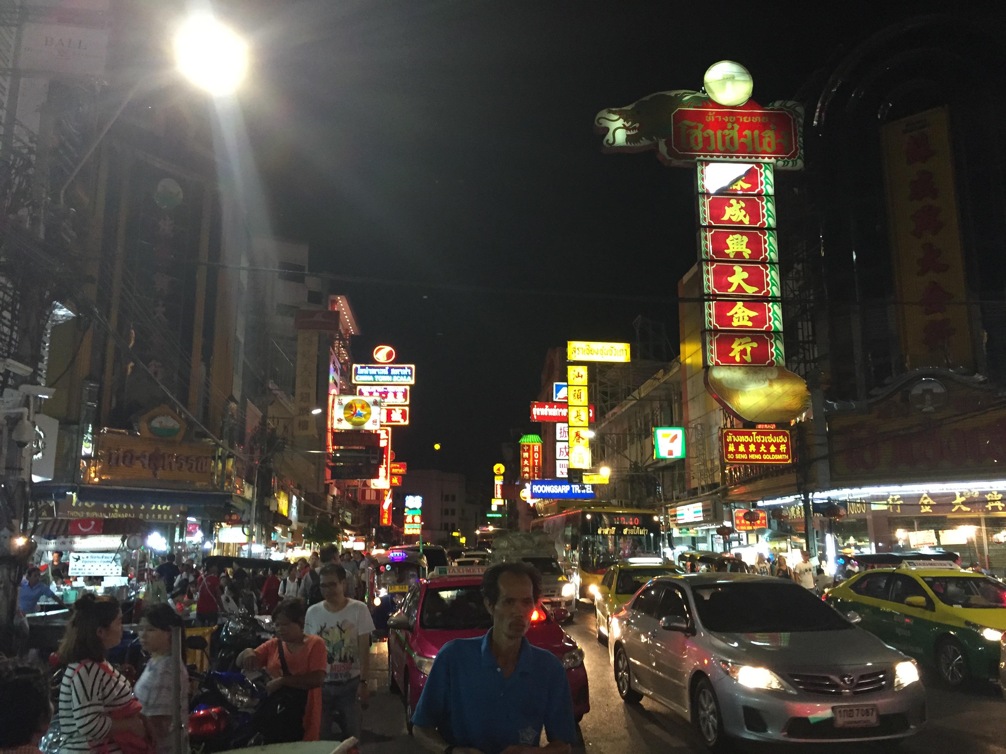 Bangkok China Town - very busy