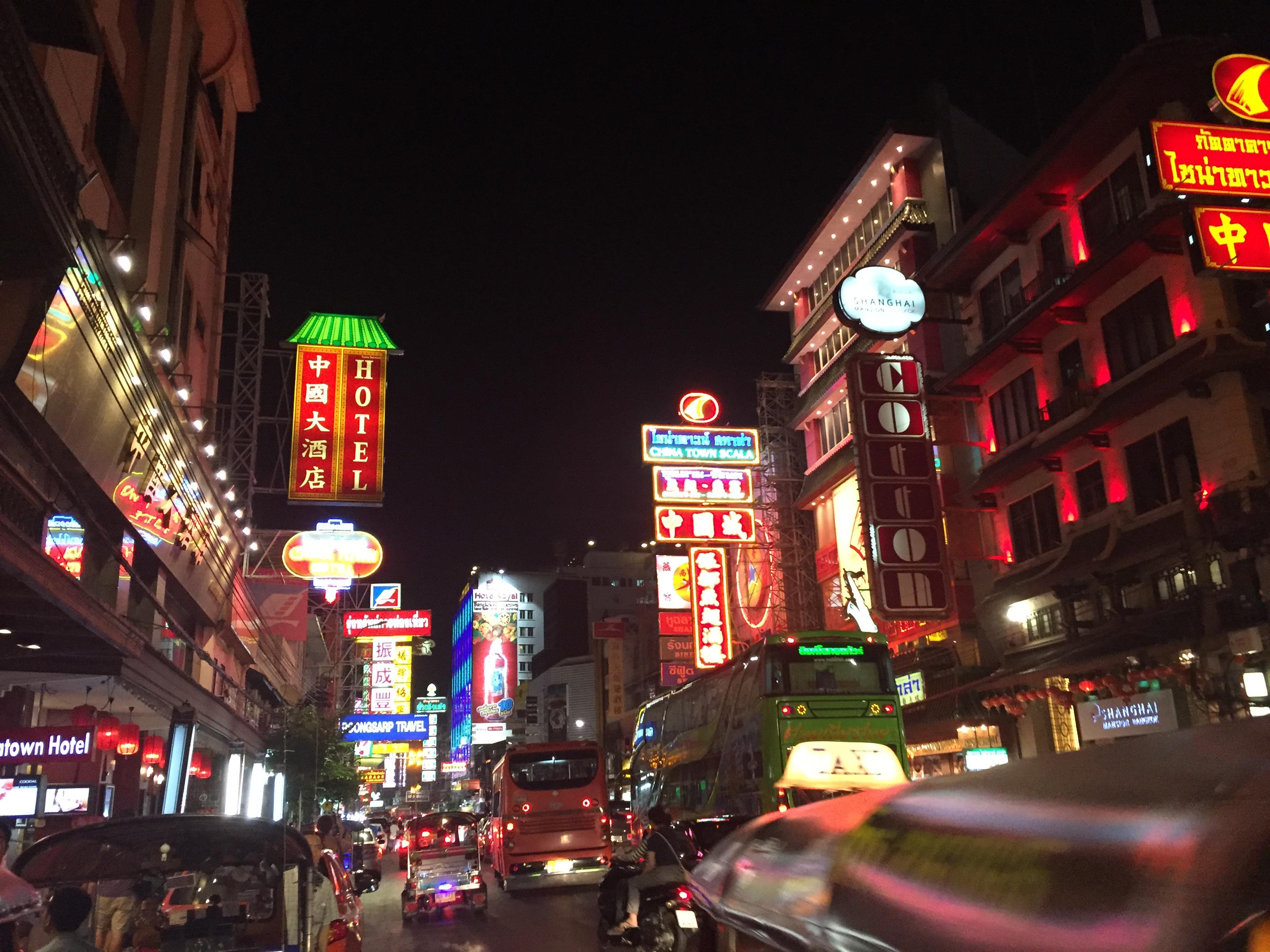 Bangkok China Town - still very busy