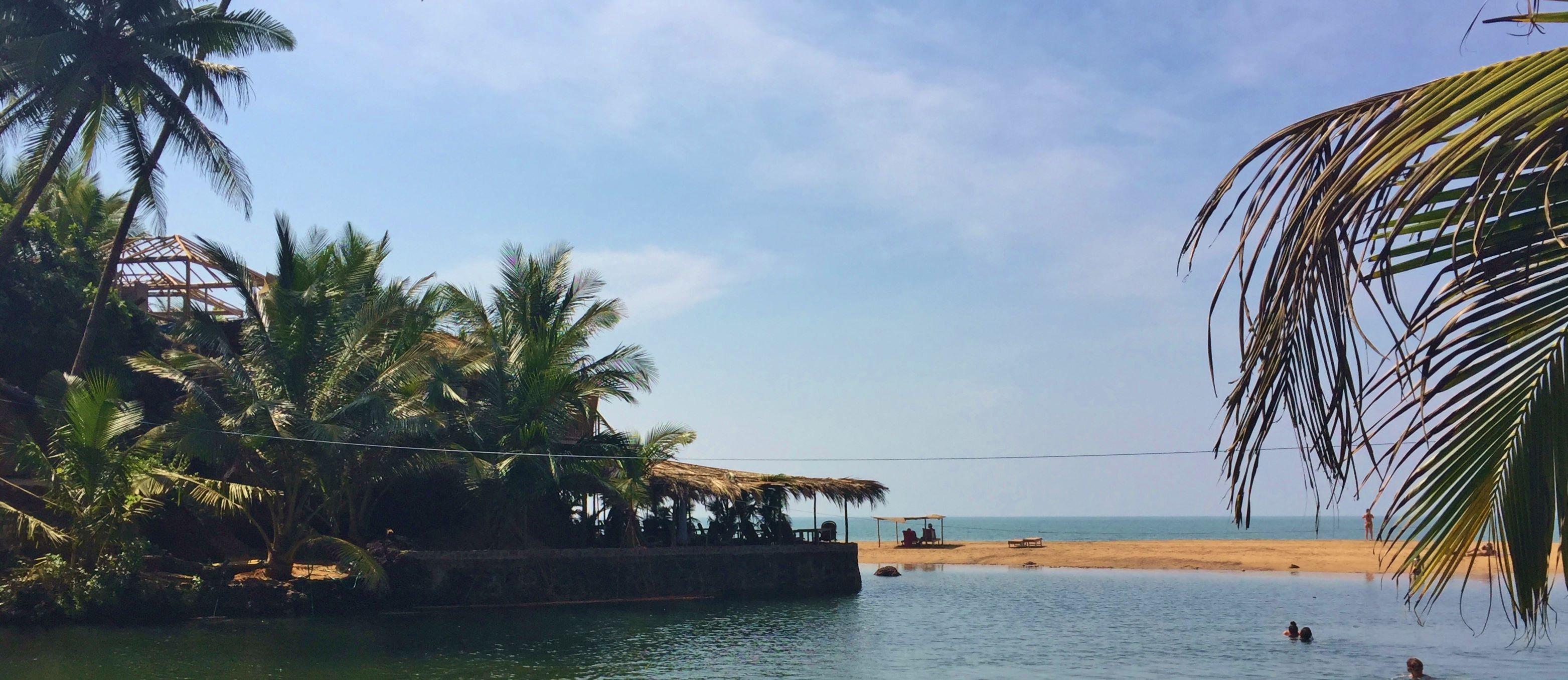 Blue Lagoon Cola Beach South Goa