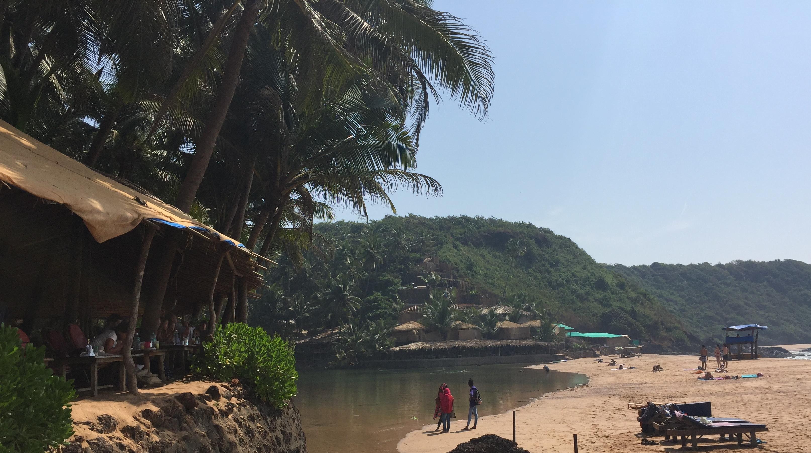 Blue Lagoon restaurant - Cola Beach South Goa