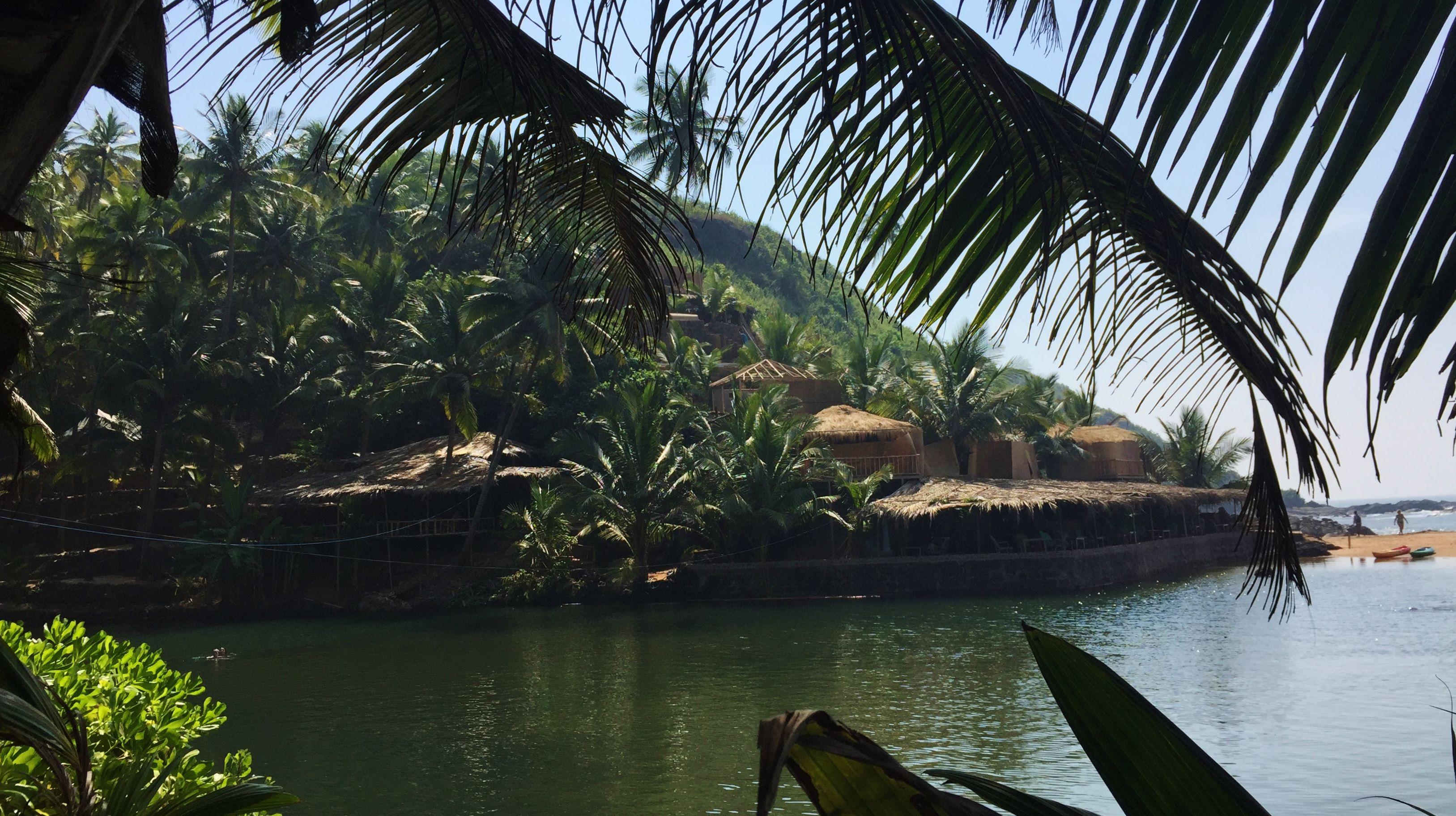 Cola Beach Blue Lagoon South Goa India